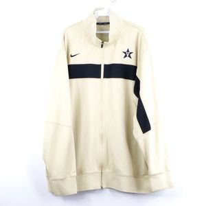 Nike Dri Fit Vaderbilt University Full Zip Jacket